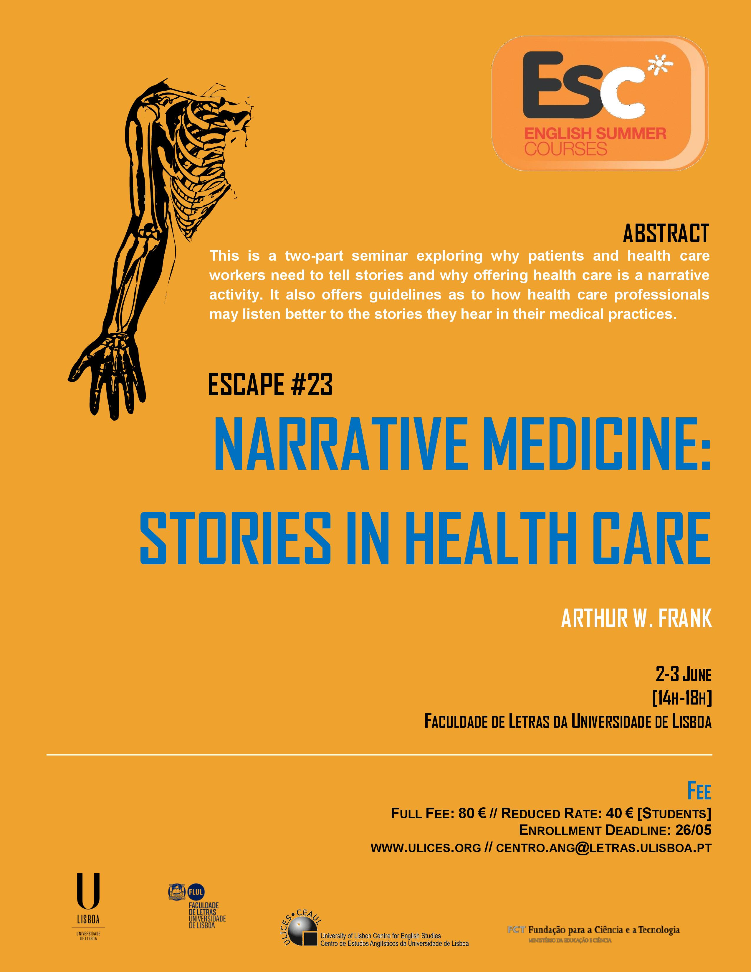 ESC23 Narrative and Medicine